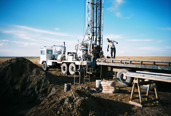 Drilling Centennial Project August 2007